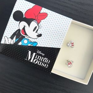 Girls Minnie Mouse Earrings